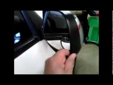 Fix Rear View Mirror Shaky Rattle Noise 2006 Toyota
