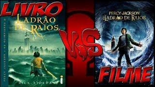 Percy Jackson E O Ladrão De Raios (Livro X Filme