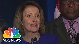 Pelosi: Tonight Is About 'Restoring The Constitution's Checks And Balances' To Trump   NBC News