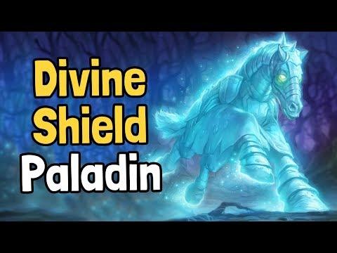 Divine Shield Paladin Decksperiment - Hearthstone