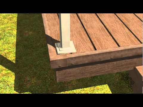 7 - Composite Decking installation - Railings