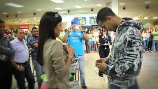 Flash Mob Proposal At Santo Domingo Airport [[ORIGINAL