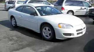 Quick Start Up 2001 Dodge Stratus Coupe And Compare To