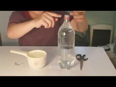 Đồ chơi trẻ em : làm đồ chơi khoa học đơn giản với chai nước