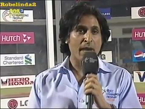 Ramiz Raja forgets to makes sense- Be good, and be cool.