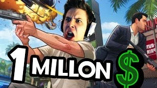 1 MILLON DE DOLARES GTA V Online Epic Directo