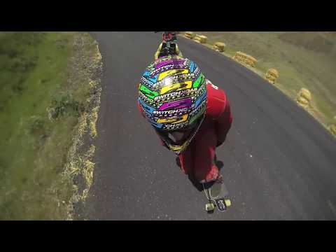 Maryhill Freeride 2013 Raw Run - Switchback Copter Cam