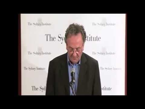 Louis Nowra at the Sydney Institute -