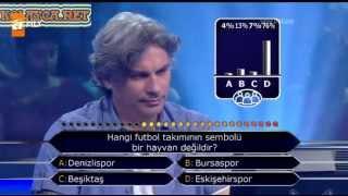 Kim Milyoner Olmak Ister 253. bölüm Kulpar Demirbilek 23.07.2013