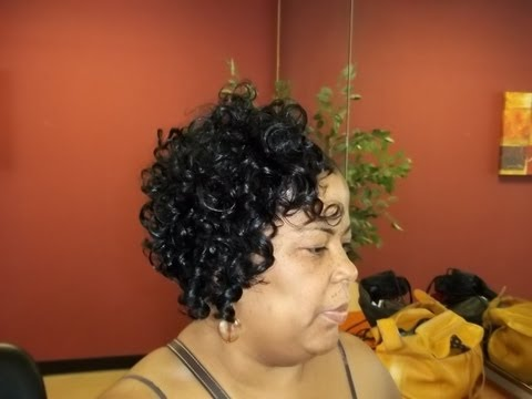 Hình ảnh trong video short curly quickweave styles for women