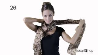 Formas de usar un pañuelo