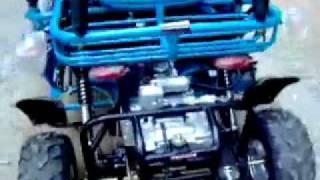 Kandi 110cc Go Kart KD49FM5 Expressatvs.com - YouTube