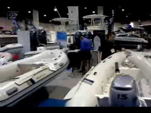 2014 Providence Boat Show - maritime Solutions - InflatableXperts Display