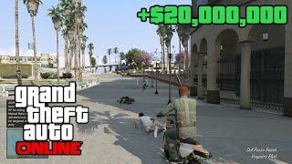 GTA 5 Online Million Dollar Bounty Money Mods Return