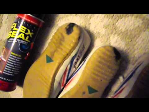 Flex Seal Spray in White Flex Seal is a liquid rubber coating spray that turns into a durable waterproof barrier. It's easy to use and comes in a portable aerosol spray can.