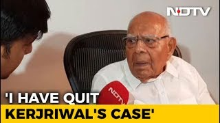 Ram Jethmalani quits as Arvind Kejriwal's Lawyer, says he ..
