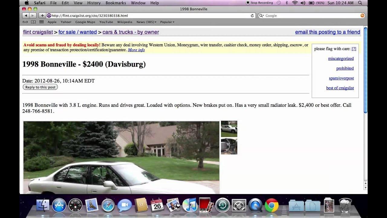 Craigs Listflint Autos Post
