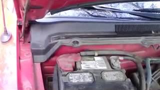 Prevenir entrada de agua al coche