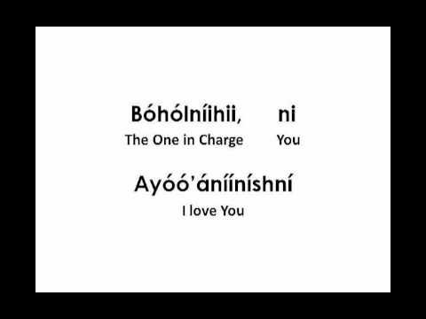 Away in A Manger (Lyrics in Navajo)