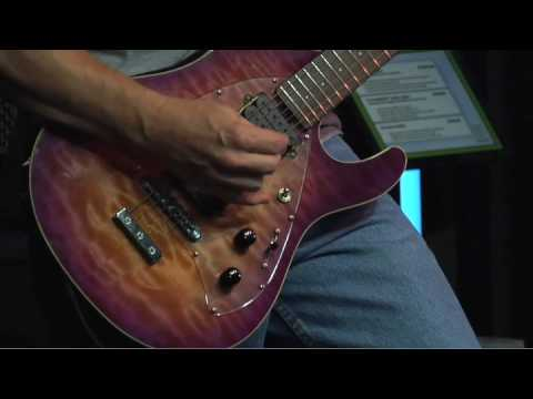 Ernie Ball Music Man and Steve Morse
