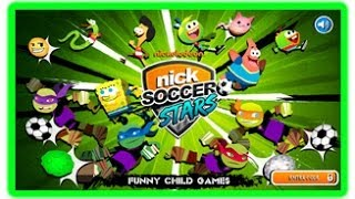 Nickelodeon Soccer Stars Nick Games