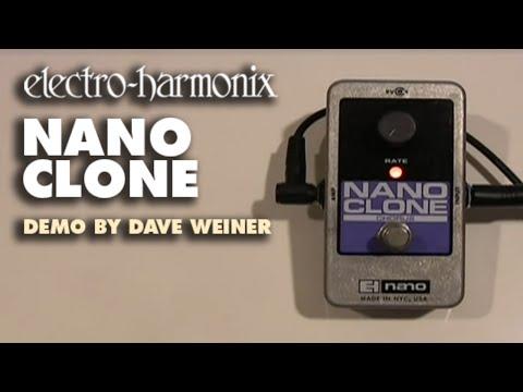 Electro Harmonix Nano Clone Analog Chorus Pedal for Guitar