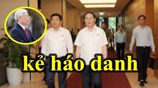 Bất ngờ Trần Đại Quang hợp lực với Đinh La Thăng để đánh lão già háo danh Nguyễn Phú Trọng