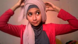 HIJAB TUTORIAL FINALIS HIJABERS SURABAYA MODEL 2013 NO 5