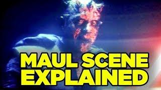 Solo Star Wars ENDING EXPLAINED (Secret Cameo Breakdown!) // Darth Maul Alive Explained