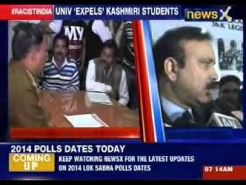 University 'expels' Kashmiri students
