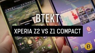 Sony Xperia Z2 Vs Z1 Compact MWC 2014