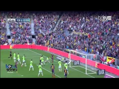 barcelona vs osasuna 2014 7-0