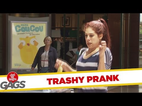 Rabid Trash Can Prank