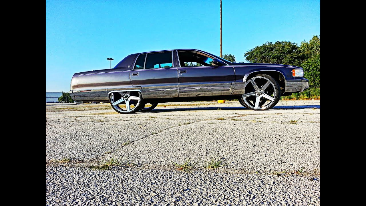 Cadillac On 26 Inch Rims : Cadillac deville on s