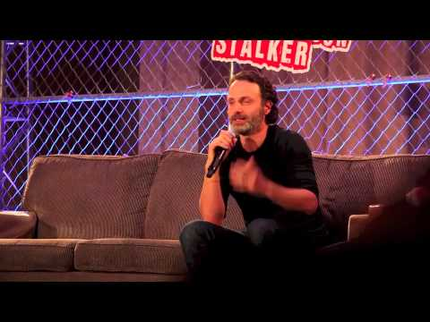Andrew Lincoln on Developing Rick's Accent for The Walking Dead