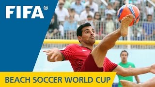 HIGHLIGHTS: Portugal v. Argentina - FIFA Beach Soccer World Cup 2015