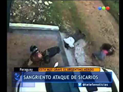 Sicarios atacaron a un argentino en Paraguay: la investigación - Telefe Noticias