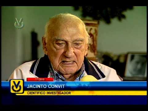 Entrevista Venevisión: Jacinto Convit junto a Ana Alicia Alba