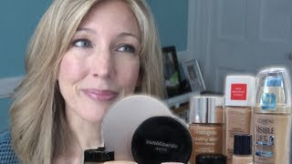 Best & Worst: Testing 5 High-End Foundations For Mature