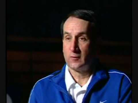 Duke Head Coach K Talks About Leading with the Heart - YouTube