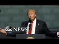 President Trump proud to be 1st president to address the NRA in 34 years