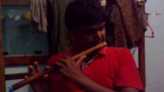 anjali anjali song Played in Bamboo flute (Instrumental)