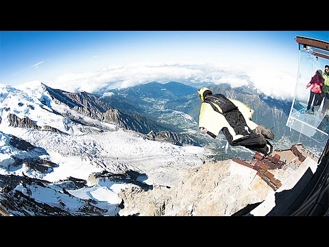 Aiguille Du Midi   WINGSUIT   Fernando Goncalves Especial Jump
