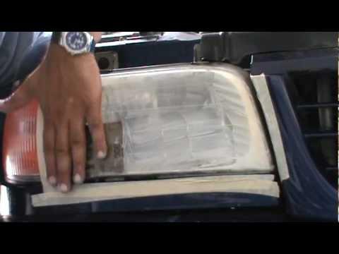 Kit de pulido de faros profesional parte 2 youtube - Kit de pulido de faros ...