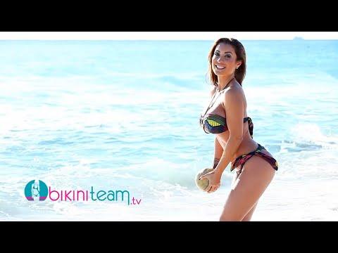 Jessica Canizales Models a Brazilian Bikini