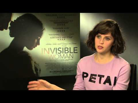 The Invisible Woman - Felicity Jones Interview