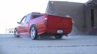 Chevy Colorado Burnout videos