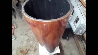 Como fabricar un tambor casero