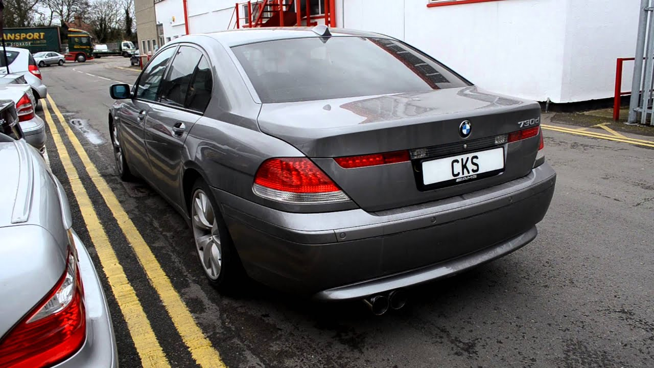 Bmw E65 730d Cks Sport Exhaust System Youtube