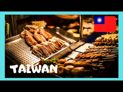 The Danshui food market, a tour (Taiwan)